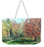 Autumn In My Backyard  Weekender Tote Bag