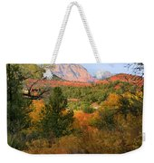 Autumn In Red Rock Canyon Weekender Tote Bag