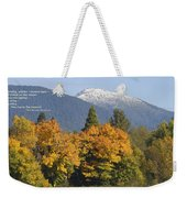 Autumn In The Illinois Valley Weekender Tote Bag