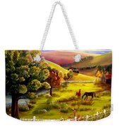 Autumn In The Valley Weekender Tote Bag