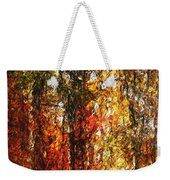 Autumn In The Woods Weekender Tote Bag by David Lane