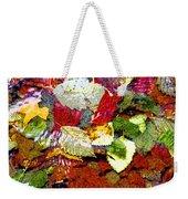 Autumn In Water Weekender Tote Bag