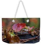 Autumn Ivy In Red Weekender Tote Bag