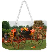Autumn Joy Weekender Tote Bag