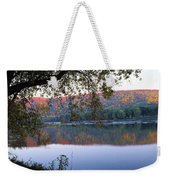 Autumn Lake Weekender Tote Bag