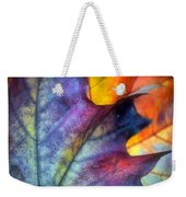 Autumn Leaf Abstract 2 Weekender Tote Bag
