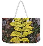 Autumn Leaf Art I Weekender Tote Bag