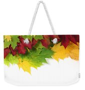 Autumn Leaves In Colour Weekender Tote Bag