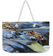 Autumn Leaves In Water IIi Weekender Tote Bag