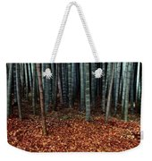 Autumn Leaves Litter The Ground Weekender Tote Bag