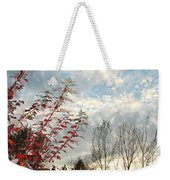 Autumn Maple And Sky Weekender Tote Bag