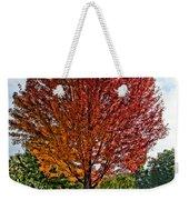 Autumn Maple Emphasized Weekender Tote Bag