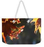 Autumn Maple Weekender Tote Bag