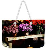 Autumn Market Weekender Tote Bag