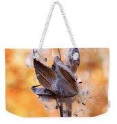 Autumn Milkweeds Weekender Tote Bag