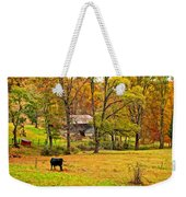 Autumn Moment Paint Weekender Tote Bag