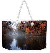 Autumn Morning By Wissahickon Creek Weekender Tote Bag