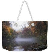 Autumn Morning On The Wissahickon Weekender Tote Bag