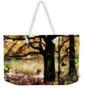 Autumn Oak Tree Weekender Tote Bag