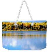 Autumn On Chena Lake Weekender Tote Bag