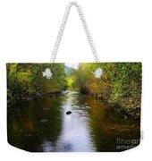 Autumn On Satus Creek  Weekender Tote Bag