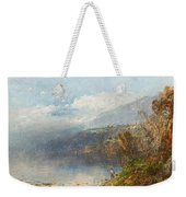 Autumn On The Androscoggin Weekender Tote Bag by William Sonntag