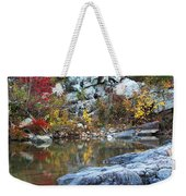 Autumn On The Black River 1 Weekender Tote Bag