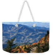 Autumn On The Blue Ridge Parkway Weekender Tote Bag