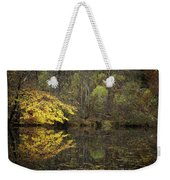 Autumn On The Pond Weekender Tote Bag