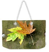 Autumn Pair Weekender Tote Bag