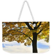 Autumn Park Weekender Tote Bag by Elena Elisseeva