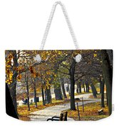Autumn Park In Toronto Weekender Tote Bag by Elena Elisseeva
