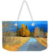 Autumn Perspective Weekender Tote Bag