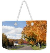 Autumn Picture Postcard Weekender Tote Bag