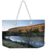 Autumn Pond 3 Weekender Tote Bag