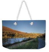 Autumn Pond 4 Weekender Tote Bag