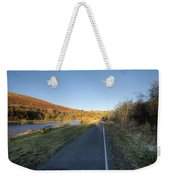 Autumn Pond 8 Weekender Tote Bag