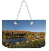 Autumn Pond 9 Weekender Tote Bag