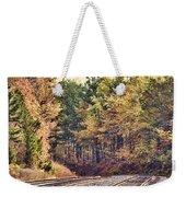 Autumn Railroad Weekender Tote Bag