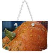 Autumn Rain Drops Weekender Tote Bag