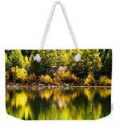 Autumn Reflection In Georgetown Lake Colorado Weekender Tote Bag