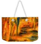 Autumn Reflection In The Water Weekender Tote Bag