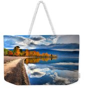 Autumn Reflections In October Weekender Tote Bag