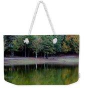 Autumn Reflections Upon Dark Waters Weekender Tote Bag
