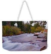 Autumn River Weekender Tote Bag
