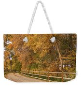 Autumn  Road To The Ranch Weekender Tote Bag