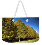 Autumn Row Weekender Tote Bag