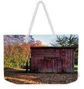 Autumn Shed Weekender Tote Bag