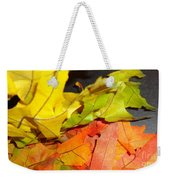 Autumn Spotlight Weekender Tote Bag