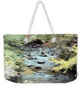 Autumn Streams Weekender Tote Bag